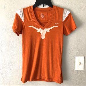 Nike Texas Longhorns Graphic Tee Women's Sz S